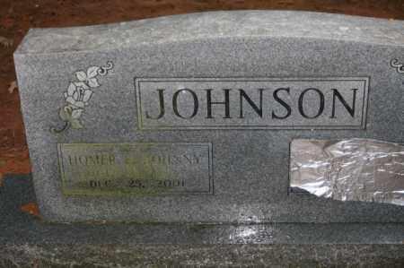 "JOHNSON, HOMER L. ""JOHNNY"" - Polk County, Arkansas | HOMER L. ""JOHNNY"" JOHNSON - Arkansas Gravestone Photos"