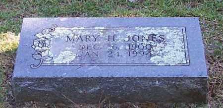 JONES, MARY H. - Polk County, Arkansas | MARY H. JONES - Arkansas Gravestone Photos