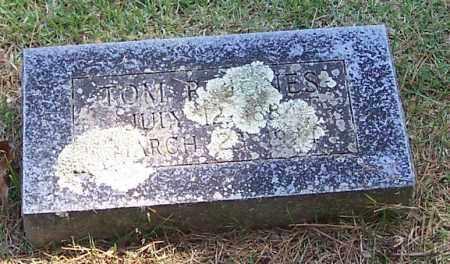 JONES, TOM R. - Polk County, Arkansas   TOM R. JONES - Arkansas Gravestone Photos