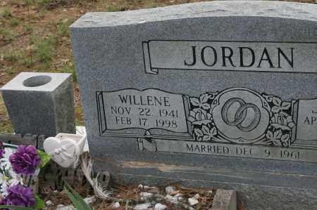 JORDAN, WILLENE - Polk County, Arkansas | WILLENE JORDAN - Arkansas Gravestone Photos