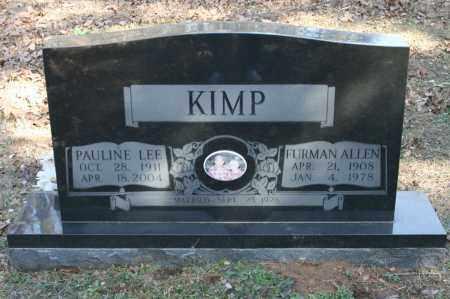 MONTGOMERY KIMP, PAULINE LEE - Polk County, Arkansas | PAULINE LEE MONTGOMERY KIMP - Arkansas Gravestone Photos