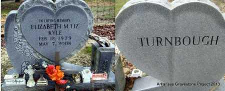 "TURNBOUGH KYLE, ELIZABETH M ""LIZ"" - Polk County, Arkansas | ELIZABETH M ""LIZ"" TURNBOUGH KYLE - Arkansas Gravestone Photos"