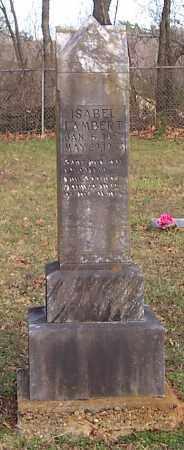 LAMBERT, ISABEL - Polk County, Arkansas | ISABEL LAMBERT - Arkansas Gravestone Photos
