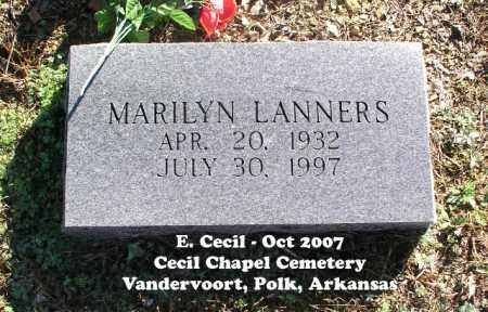 LANNERS, MARILYN - Polk County, Arkansas   MARILYN LANNERS - Arkansas Gravestone Photos