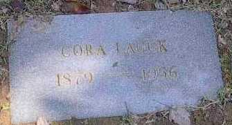 WOOD LAUCK, CORA - Polk County, Arkansas | CORA WOOD LAUCK - Arkansas Gravestone Photos