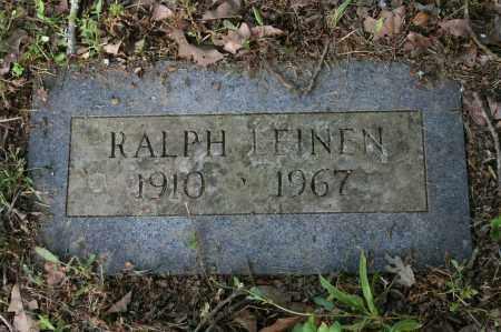 LEINEN, RALPH - Polk County, Arkansas | RALPH LEINEN - Arkansas Gravestone Photos