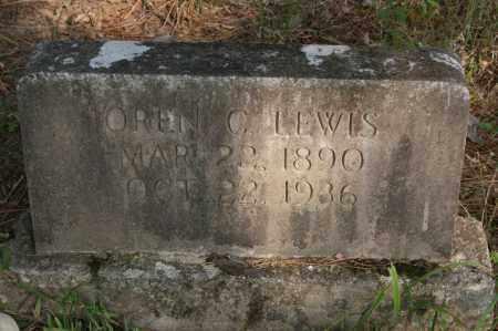 LEWIS, OREN C. - Polk County, Arkansas | OREN C. LEWIS - Arkansas Gravestone Photos