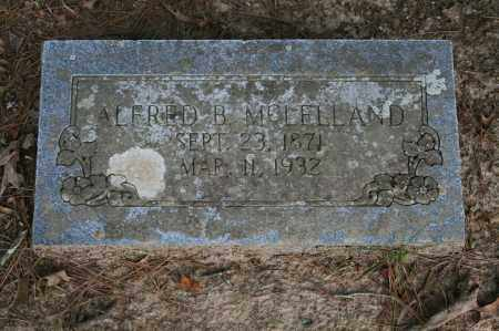 MCLELLAND, ALFRED B. - Polk County, Arkansas | ALFRED B. MCLELLAND - Arkansas Gravestone Photos