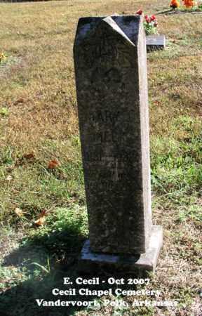 MEEK, MARY J. - Polk County, Arkansas | MARY J. MEEK - Arkansas Gravestone Photos