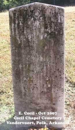 MEEK (VETERAN CSA), W - Polk County, Arkansas | W MEEK (VETERAN CSA) - Arkansas Gravestone Photos
