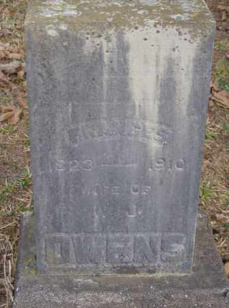 OWENS, FRANCES - Polk County, Arkansas | FRANCES OWENS - Arkansas Gravestone Photos