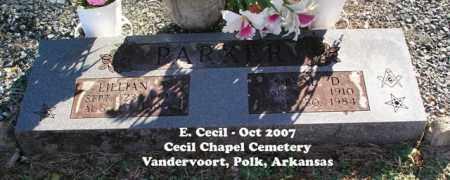 PARKER, ORVAL DELTON - Polk County, Arkansas | ORVAL DELTON PARKER - Arkansas Gravestone Photos