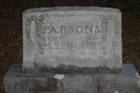 PARSONS, GEORGE - Polk County, Arkansas | GEORGE PARSONS - Arkansas Gravestone Photos