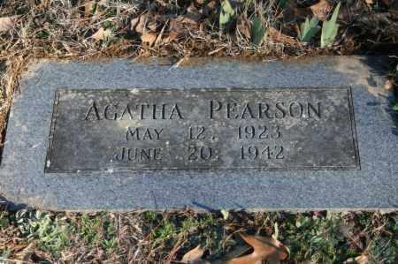 PEARSON, AGATHA - Polk County, Arkansas | AGATHA PEARSON - Arkansas Gravestone Photos