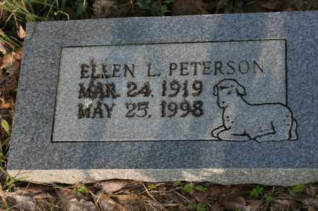 PETERSON, ELLEN L. - Polk County, Arkansas   ELLEN L. PETERSON - Arkansas Gravestone Photos