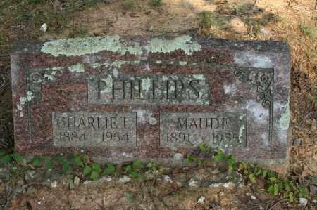 PHILLIPS, MAUDE - Polk County, Arkansas | MAUDE PHILLIPS - Arkansas Gravestone Photos
