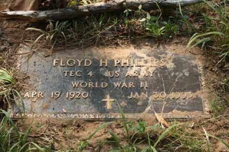 PHILLIPS (VETERAN WWII), FLOYD H - Polk County, Arkansas | FLOYD H PHILLIPS (VETERAN WWII) - Arkansas Gravestone Photos