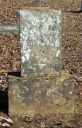 POSEY, SEBORN - Polk County, Arkansas | SEBORN POSEY - Arkansas Gravestone Photos