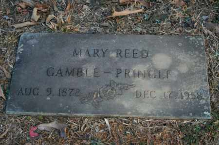 REED PRINGLE, MARY - Polk County, Arkansas | MARY REED PRINGLE - Arkansas Gravestone Photos