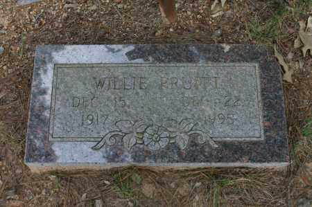 PRUITT, WILLIE - Polk County, Arkansas | WILLIE PRUITT - Arkansas Gravestone Photos