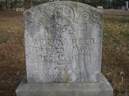 REED, ARIZONA - Polk County, Arkansas | ARIZONA REED - Arkansas Gravestone Photos