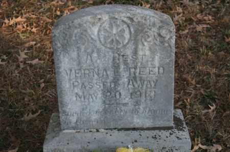 REED, VERNA EDNA - Polk County, Arkansas | VERNA EDNA REED - Arkansas Gravestone Photos