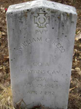 REED (VETERAN CSA), WILLIAM CARROLL - Polk County, Arkansas | WILLIAM CARROLL REED (VETERAN CSA) - Arkansas Gravestone Photos