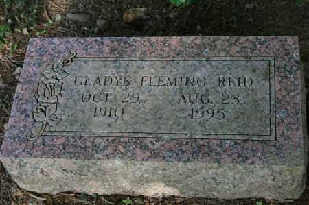 REID, GLADYS - Polk County, Arkansas   GLADYS REID - Arkansas Gravestone Photos