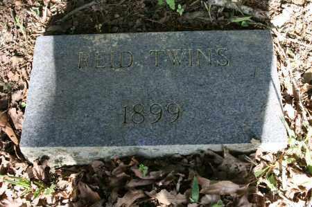 REID, TWINS - Polk County, Arkansas   TWINS REID - Arkansas Gravestone Photos