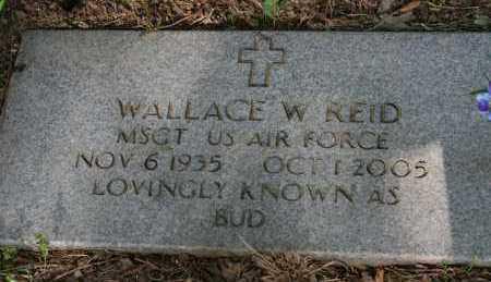 REID (VETERAN), WALLACE W. - Polk County, Arkansas | WALLACE W. REID (VETERAN) - Arkansas Gravestone Photos