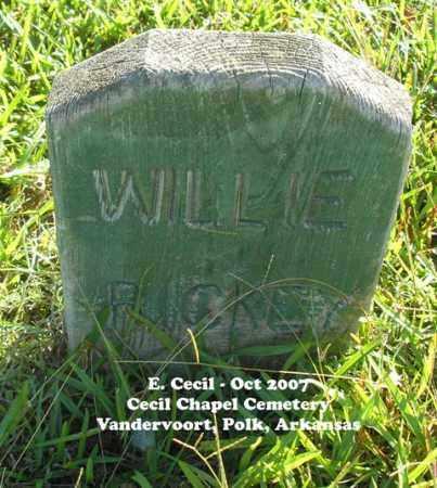 RICKEY, WILLIE - Polk County, Arkansas | WILLIE RICKEY - Arkansas Gravestone Photos