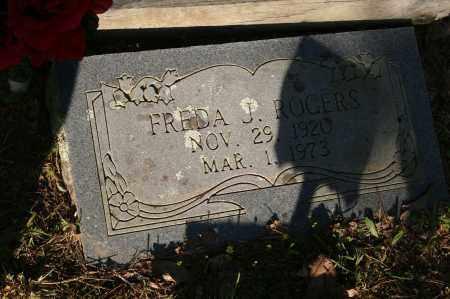 ROGERS, FREDA J. - Polk County, Arkansas | FREDA J. ROGERS - Arkansas Gravestone Photos