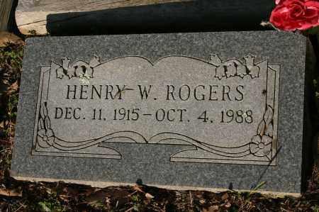 ROGERS, HENRY W. - Polk County, Arkansas | HENRY W. ROGERS - Arkansas Gravestone Photos