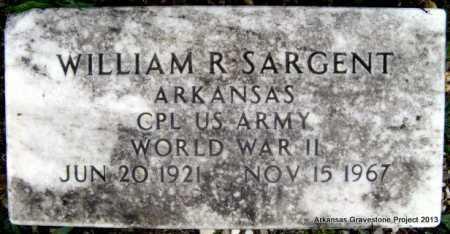 SARGENT (VETERAN WWII), WILLIAM ROYCE - Polk County, Arkansas | WILLIAM ROYCE SARGENT (VETERAN WWII) - Arkansas Gravestone Photos