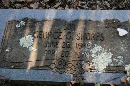 SHORES, GEORGE G. - Polk County, Arkansas   GEORGE G. SHORES - Arkansas Gravestone Photos