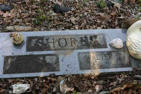 SHORES, WALTER T. - Polk County, Arkansas | WALTER T. SHORES - Arkansas Gravestone Photos