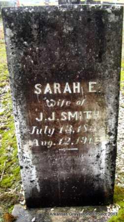 SMITH, SARAH E - Polk County, Arkansas   SARAH E SMITH - Arkansas Gravestone Photos
