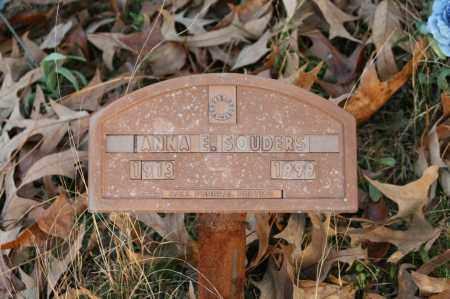 SOUDERS, ANNA E. - Polk County, Arkansas | ANNA E. SOUDERS - Arkansas Gravestone Photos