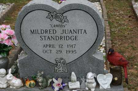 STANDRIDGE, MILDRED JUANITA - Polk County, Arkansas   MILDRED JUANITA STANDRIDGE - Arkansas Gravestone Photos