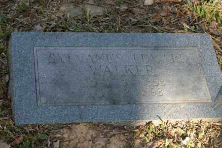 WALKER, SYLVANUS EDWARD - Polk County, Arkansas | SYLVANUS EDWARD WALKER - Arkansas Gravestone Photos