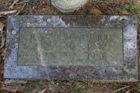 WEATHERBY, JOSSIE - Polk County, Arkansas | JOSSIE WEATHERBY - Arkansas Gravestone Photos
