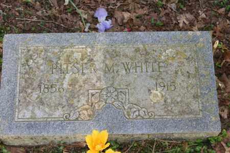 WHITE, PITSER M. - Polk County, Arkansas | PITSER M. WHITE - Arkansas Gravestone Photos