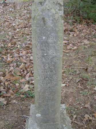 WHITE (VETERAN CSA), RALEIGH M. - Polk County, Arkansas | RALEIGH M. WHITE (VETERAN CSA) - Arkansas Gravestone Photos