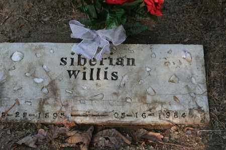 WILLIS, SIBERIAN - Polk County, Arkansas | SIBERIAN WILLIS - Arkansas Gravestone Photos
