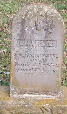 WIMBERLY, CHARLIE - Polk County, Arkansas   CHARLIE WIMBERLY - Arkansas Gravestone Photos