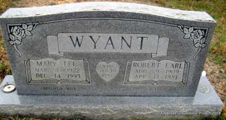 WYANT, MARY LEE - Polk County, Arkansas | MARY LEE WYANT - Arkansas Gravestone Photos