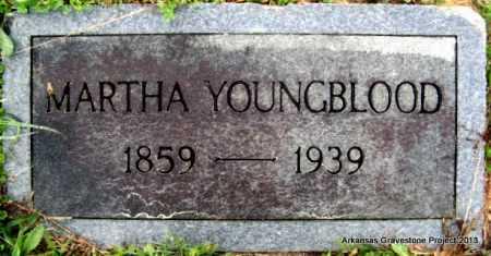 COMINGS YOUNGBLOOD, MARTHA A - Polk County, Arkansas | MARTHA A COMINGS YOUNGBLOOD - Arkansas Gravestone Photos