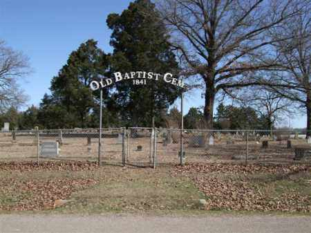 * OLD BAPTIST CEMETERY, GATE - Pope County, Arkansas | GATE * OLD BAPTIST CEMETERY - Arkansas Gravestone Photos