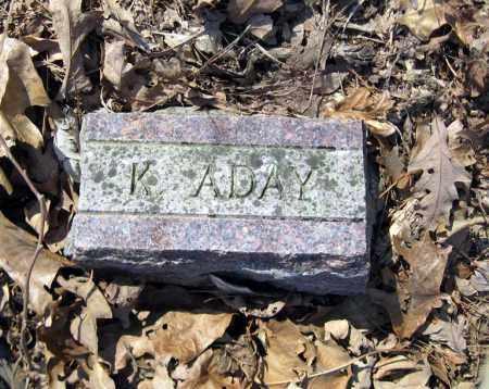 ADAY, KATHRYN - Pope County, Arkansas   KATHRYN ADAY - Arkansas Gravestone Photos