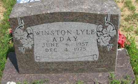 ADAY, WINSTON LYLE - Pope County, Arkansas | WINSTON LYLE ADAY - Arkansas Gravestone Photos